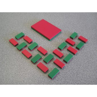 Plastic Coated Blocks (Jumbo)