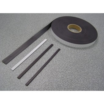 Extruded Magnetic Strip 25mm Wide x 1.5mm Thick